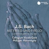 Deborah York Ingeborg Danz Mark Pad - J.S. Bach Cantatas Bwv 8 125 & 138