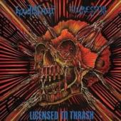 Agressor /Loudblast - Licensed To Thrash (Transparent Blue Vinyl) (LP)