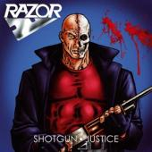 Razor - Shotgun Justice (Transparent Blood Red Vinyl) (LP)