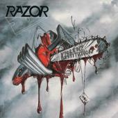 Razor - Violent Restitution (White/Red Splatter Vinyl) (LP)