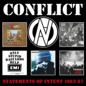 Conflict - Statements Of Intent 1982-87 (5Cd Clamshell Box) (5CD)