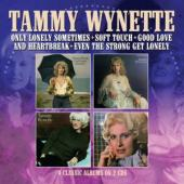 Wynette, Tammy - Only Lonely Sometimes (Soft Touch / Good Love And Heartbreak / Even The Strong Get Lonely) (2CD)