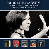 Bassey, Shirley - Five Classic Albums Plus Bonus Singles (4CD)