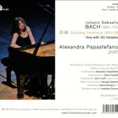 Papastefanou, Alexandra - J.S. Bach Goldberg Variations (.. Variations)