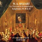 Le Concert Des Nations Jordi Savall - Le Testament Symphonique Sym. 39-40 CD