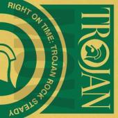 V/A - Right On Time - Trojan Rock Steady (.. Trojan Rock Steady//180Gr/2000Copies On Orange Vinyl) (2LP)