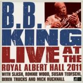 King, B.B. - Live At The Royal Albert Hall (CD+DVD) (cover)