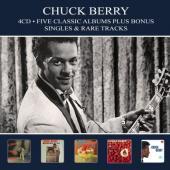 Berry, Chuck - Five Classic Albums (Plus Bonus Singles & Rare Tracks) (4CD)
