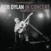 Dylan, Bob - Brandeis University 1963 (cover)