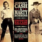 Cash, Johnny & Marty Robbins - Gunfighter Ballads & More (2CD)