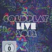 Coldplay - Live 2012 (BluRay+CD) (cover)