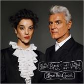 Byrne, David & St. Vincen - Love This Giant (LP) (cover)