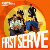 De La Soul 's Plug 1 & Plug 2 Present - First Serve (LP) (cover)