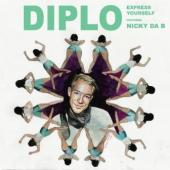 "Diplo - Express Yourself (Ltd. 7"") (cover)"