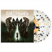 Epica - Omega Alive (White, Yellow, Black Splattered Vinyl) (3LP)