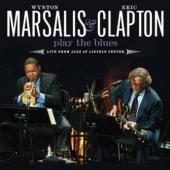 Clapton, Eric & Wynton Marsalis - Play The Blues Live (CD+DVD) (cover)