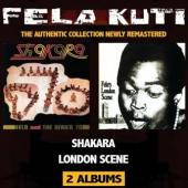 Fela Kuti - Shakara + London Scene (2CD) (cover)