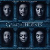Game of Thrones 6 (OST by Ramin Djawadi) (Red Vinyl) (3LP)