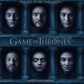 Game of Thrones 6 (OST by Ramin Djawadi) (Red Vinyl) (3LP)