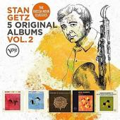 Getz, Stan - 5 Original Albums (Volume 2) (5CD)