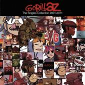 Gorillaz - The Singles Collection 2001-2011 (cover)