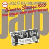 Herb Ellis & Illinois Jacquet & Oscar Peterson - Blues In Chicago 1955 (Jazz At the Philharmonic) (LP)