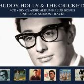 Holly, Buddy & the Crickets - Six Classic Albums (Plus Bonus Singles & Session Tracks) (4CD)