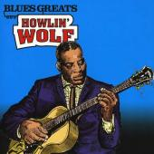Howlin' Wolf - Blues Greats (cover)