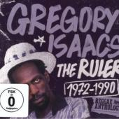 Isaacs, Gregory - Ruler 1972-1990 (CD+DVD) (cover)
