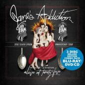 Jane's Addiction - Alive At Twenty-Five (CD+DVD+BluRay)