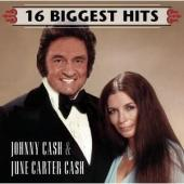 Cash, Johnny & June Carter - 16 Biggest Hits (cover)