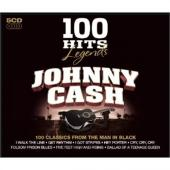 Cash, Johnny - 100 Hits: Legends (5CD) (cover)