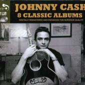 Cash, Johnny - 8 Classic Albums (cover)