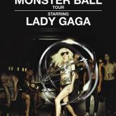 Lady Gaga - Monster Ball Tour (DVD) (cover)