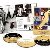 Jackson, Michael - Vision Of (Dutch Version) (3DVD) (cover)