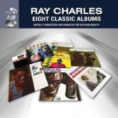 Charles, Ray - 8 Classic Albums (4CD) (cover)