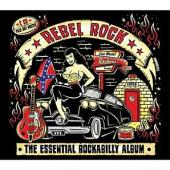 Rebel Rock: The Essential Rockabilly Album (cover)