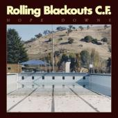 Rolling Blackouts Coastal Fever - Hope Downs (Marbled Blue Vinyl) (LP)