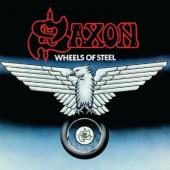 Saxon - Wheels of Steel (Limited) (Blue & White Splatter Vinyl) (LP)