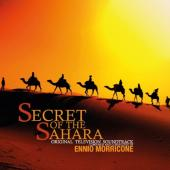 Secret of the Sahara (OST by Ennio Morricone) (Black & Solid Orange Mixed Vinyl) (LP)