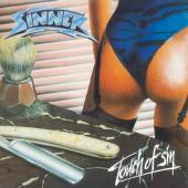 Sinner - Touch of Sin (Solid Blue & Black Mixed Vinyl) (LP)