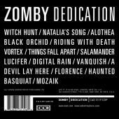 Zomby - Dedication (cover)